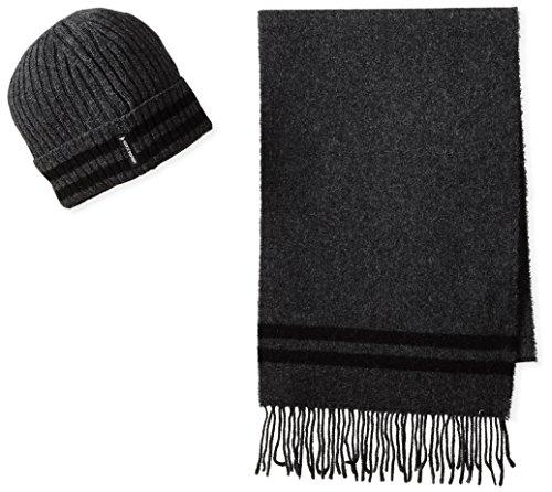 Cappellino e sciarpa Armani Jeans Z6806 Q1 GRIGIO