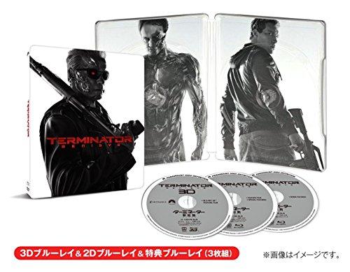 ターミネーター:新起動/ジェニシス スチールブック