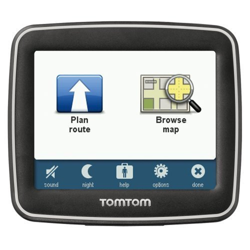 tomtom ease 3 5 inch portable gps navigator black black friday cyber monday. Black Bedroom Furniture Sets. Home Design Ideas