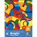 Bright Paper Pad A4 50 Sheet