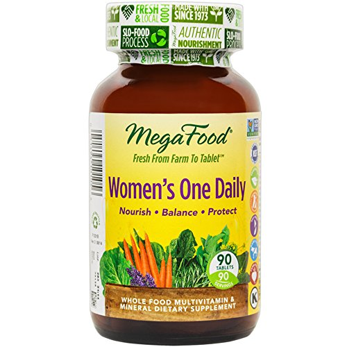 MegaFood - Women's One Daily, Supports Healthy Emotional Balance & Stress Response, 90 Tablets (FFP) (Programs From Every compare prices)