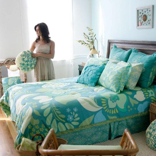 Amy Butler Dancing Garden Comforter And Sham Set Twin