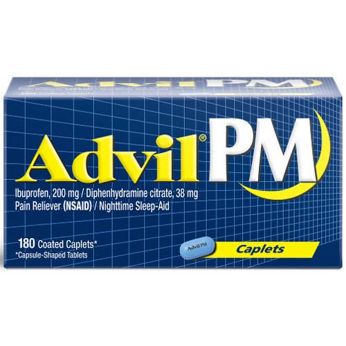 Advil PM-Nighttime Pain Reliever and Sleep-Aid, 180ct