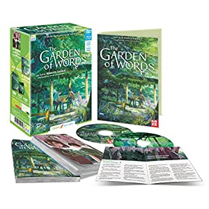 Garden of Words (The) Collector [Cross Édition Limitée Blu-ray + DVD+ Rom
