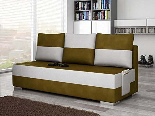Sofa Atila Couch Corner Sofa Corner Couch with Bed function 01496