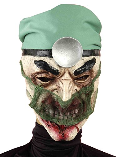 Forum Novelties Men's Maniac Medic Full Mask