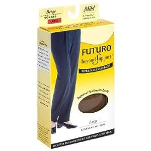 Amazon.com: Futuro Mild Compression Knee Highs - Beige - Large by