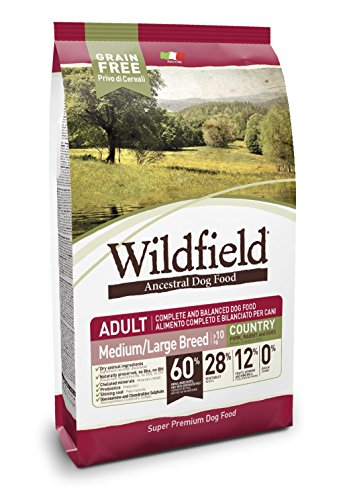 EXCLUSION Wildfield medium large maiale coniglio e uova 2kg