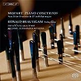 モーツァルト : ピアノ協奏曲集 第5集 (Mozart : Piano Concertos VOL.5 ~ Nos 20 in D minor & 27 in B flat major / Ronald Brautigam | Die Kolner Akademie | Michael Alexander Willens) [SACD Hybrid] [輸入盤] [日本語帯・解説付]