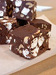 Cal Fudge Factory Rocky Road Fudge Per 1/2 Pound