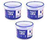 Cosmo Leak Proof Microwavable container set of 3 400ml