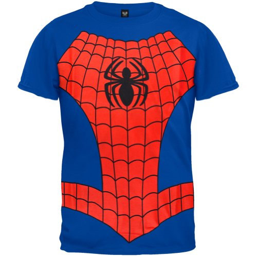Spider-Man - Boys Spider In Me Costume Youth T-Shirt Medium Blue front-1015721