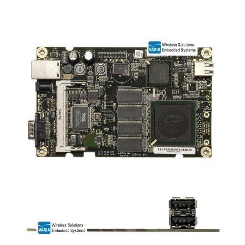 ALIX.3D2 aLIX 3D2 carte mère, 500MHz, 256 mo, 1xLAN, 2 mini baluns transmetteurs-récepteurs from pC engines pCI uSB