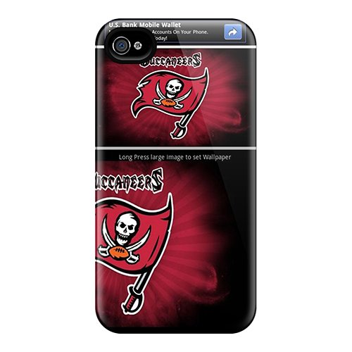 Cute Appearance Cover/Tpu Khg4711Rdso Tampa Bay Buccaneers Case For Iphone 4/4S