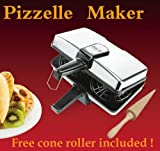 Non Stick Pizelle Baker by MT - includes free cone roller!!!