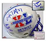 Lofa Tatupu Seattle Seahawks Autographed Super Bowl XL Mini Helmet with Inscription at Amazon.com