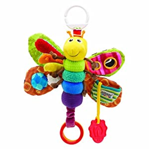 Tomy Lamaze Play andGrow Take Along Toy, Freddie the Firefly