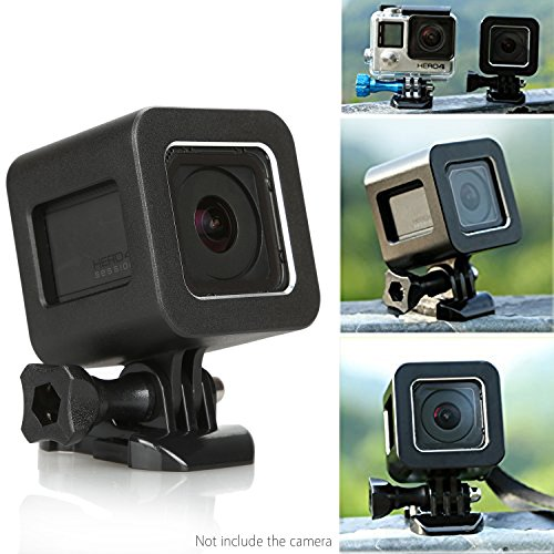 Go-Pro-Hero4-Session-Shell-Housing-Yemo-CNC-Aluminum-Solid-Strong-Protector-Case-Cover-for-GoPro-Hero4-Session-Black