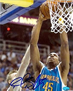 Rasual Butler Autographed Hand Signed 8x10 photo (New Orleans Hornets) Image #1 by Hall of Fame Memorabilia