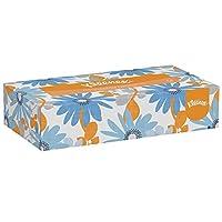 Kleenex Facial Tissue (03076), Flat Tissue Boxes, 12 Boxes / Convenience Case, 125 Tissues / Box
