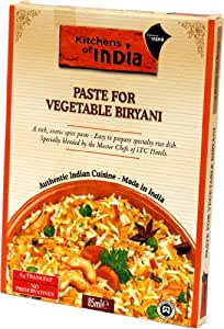 kitchens of india vegetable biryani paste for vegeta 6er pack 6 x