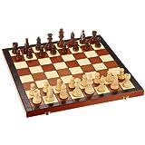 Philos Chess Set Fischer 木製チェスセット 40cm 2605