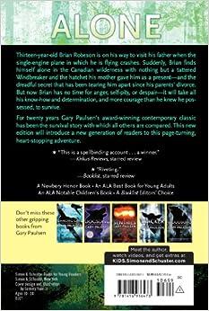 Amazon.com: Hatchet (9781416936473): Gary Paulsen: Books