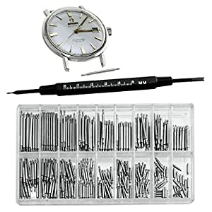 SE - Watch Pin Set - Size 6mm-23mm, 360 Pc - JT6322WP