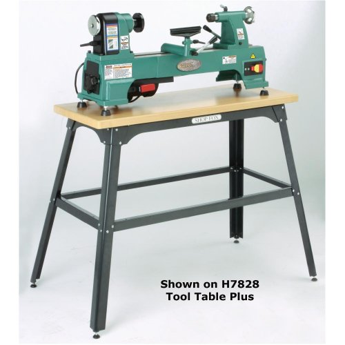 Grizzly G0624 10″ Cast Iron Bench Top Wood Lathe