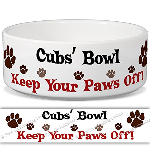 cubs-bowl-keep-your-paws-off-personalised-name-ceramic-pet-food-bowl-180mm-x-77mm-large