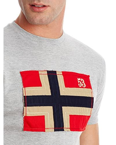 Geographical Norway T-Shirt Manica Corta Janremo [Bianco]
