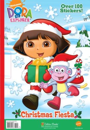 Christmas Fiesta (Dora the Explorer) (Giant Coloring Book)