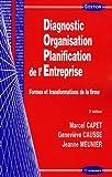 echange, troc Marcel Capet, Geneviève Causse, Jeanne Meunier - Diagnostic Organisation Planification de l'Entreprise : Formes et transformations de la firme