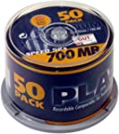 Platinum CD-R 700 MB CD-Rohlinge (52x...