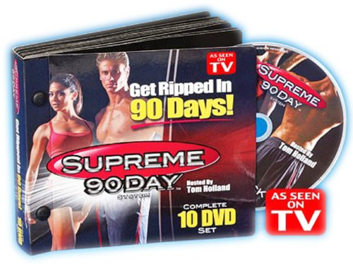 Ddi As Seen On Tv Supreme 90 Day Workout Dvd Set Case Pack 3