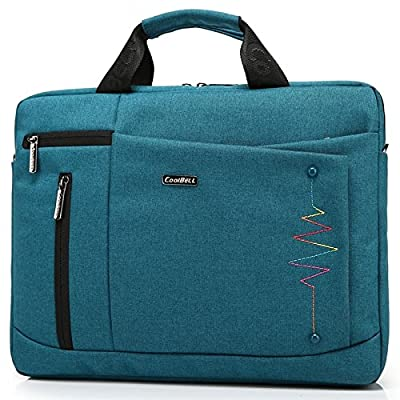 J-Bonest® New Soft Nylon Laptop Computer Case Cover Sleeve Shoulder Strap Bag with Side Pockets Handles and Detachable for Macbook Air pro 13.3inch Mini Asus/DELL/HP/Samsung