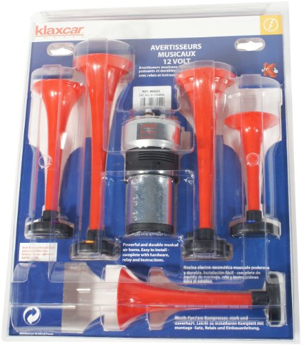 Klaxcar France 86605X - Kit Clacson Dixie Land 5 Trombe