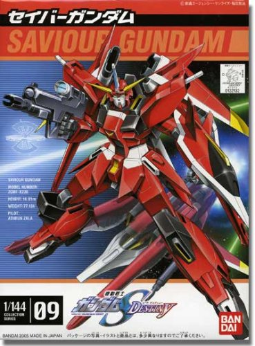 Gundam Seed Destiny 09 Saviour Gundam Model Kit 1/144 Scale
