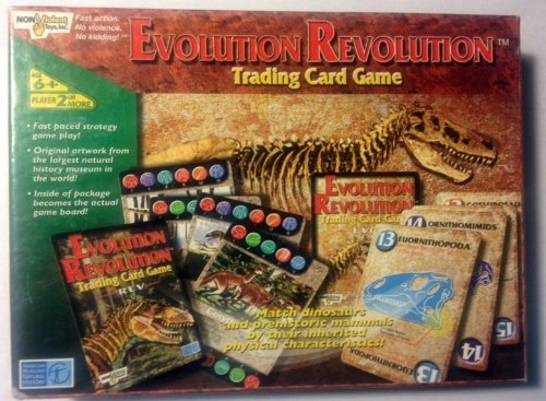 Evolution Revolution Trading Card Game - 1