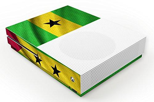 pelle-di-disegno-microsoft-xbox-one-s-bandiera-di-sao-tome-e-principe-design-skin
