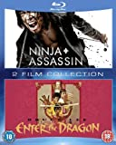 Ninja Assassin/Enter the Dragon Double Pack [Blu-ray] [1973] [Region Free]