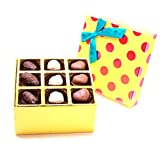 ZOROY Assorted Chocolate Double Decker Box With 18 Belgian Assorted Chocolates