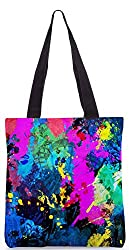Snoogg Splash Paint Job Poly Canvas Tote Bag
