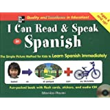 I Can Read and Speak in Spanish (Book + Audio CD) ~ Maurice Hazan