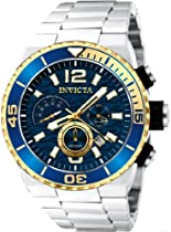 Invicta Pro Diver Chronograph Blue Dial Stainless Steel Mens Watch 12993