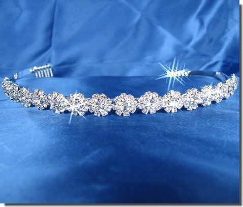 Bridal Wedding Tiara Crown Flower Band 26336