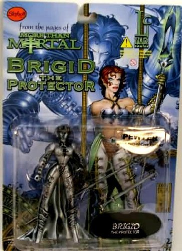 Brigid the Protector Action Figure (Pewter Variant) - More Than Mortal Series