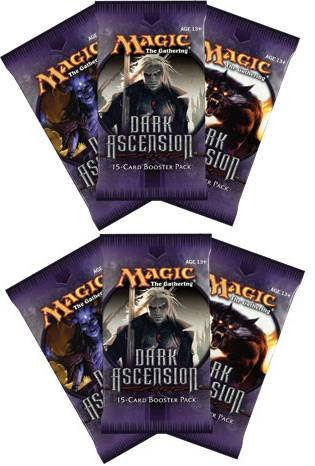 6 (Six) Packs Of Magic The Gathering - Mtg: Dark Ascension Booster Pack Lot (6 Packs) front-902843