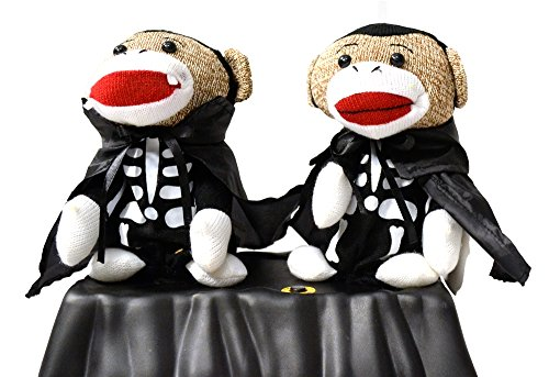 Halloween Animated Singing Sock Monkeys