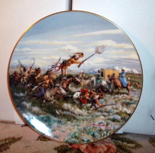 "Gorham Decorative Plate- ""A Fine Welcome"""